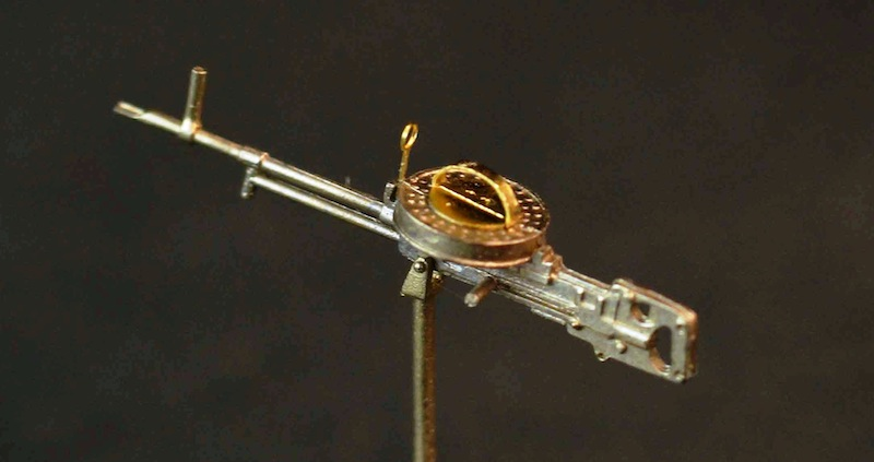 Miniworld 1/72 Vickers K machine gun