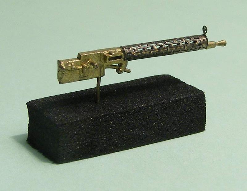 Miniworld 1/72 Spandau LMG 15/08 machine gun