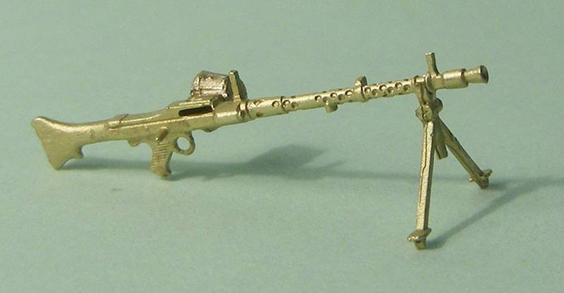 Miniworld 1/72 MG-34 machine gun with bipod