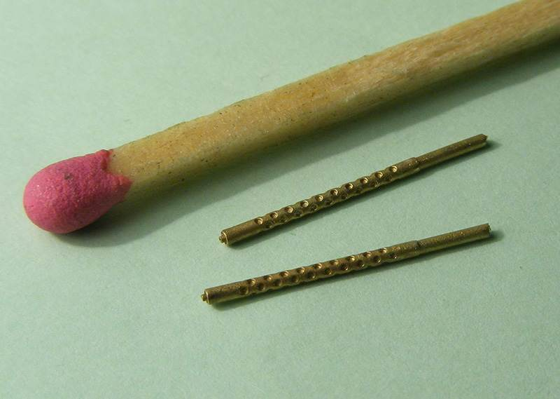 Miniworld 1/72 Browning M2 .50 cal, Aircraft barrel (2 pieces)