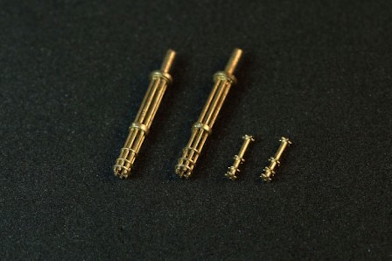 Miniworld 1/48 M134 Minigun barrels, early version (2 pieces)