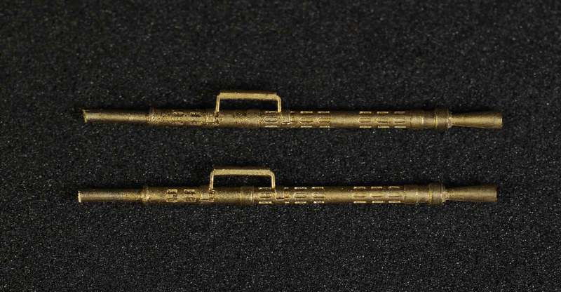 Miniworld 1/72 KPVT 14,5mm machine gun barrel, type 1 (2 pieces)