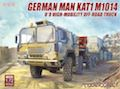 Modelcollect 1/72 German MAN KAT1M1014 8*8 HIGH-Mobility off-road truck